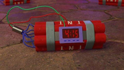 dynamite  explosives  explode