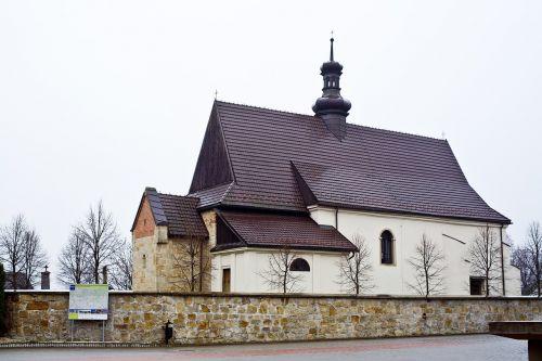 dziekanowice church romance