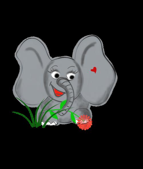 elephant animal dear