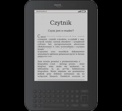 e-book e-reader kindle