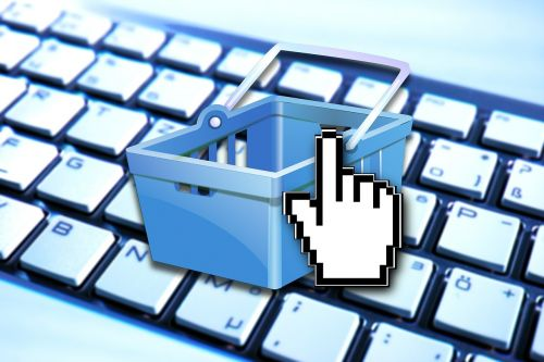 e commerce shopping basket shopping