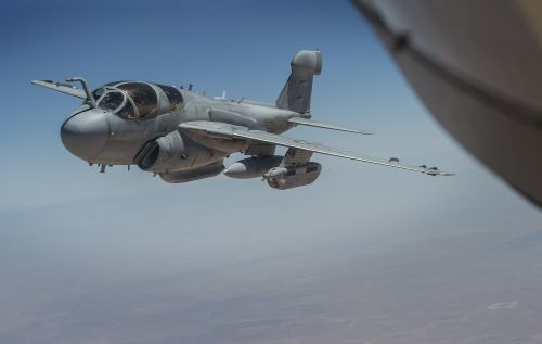 ea-6b prowler us navy operation inherent resolve