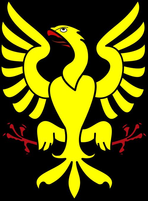 eagle yellow symbol