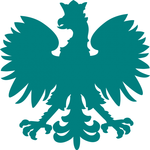 eagle heraldic animal silhouette