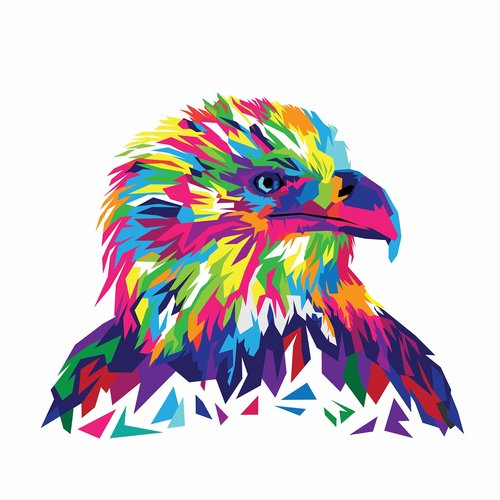 eagle  eagle vector  vector illustration
