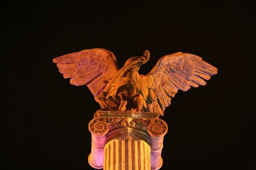 eagle exedra column