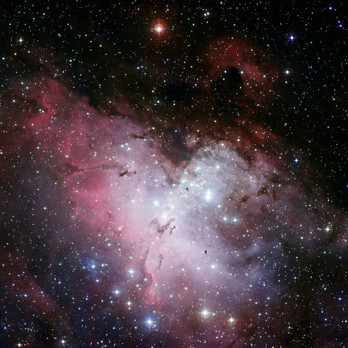 eagle nebula ic 4703 fog