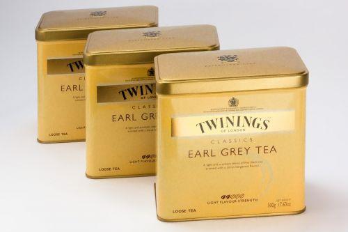 earl gray tee tea tins
