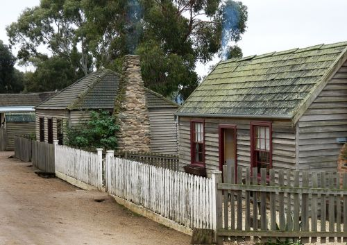 early australian miners cottage architecture