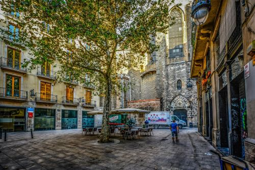 Early Morning In Barcelona