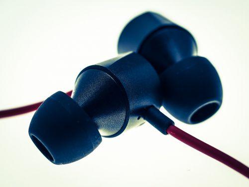 earphones in-ear headphones music