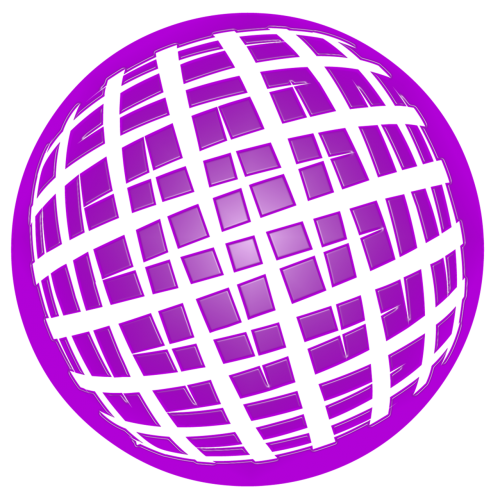 earth purple orb