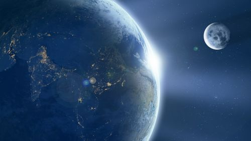 earth moon ache