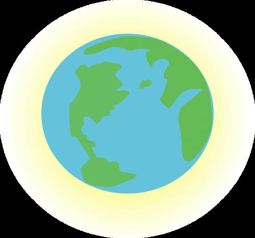 earth atmosphere globe