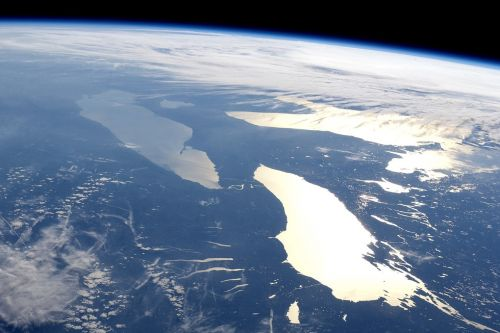 earth space view