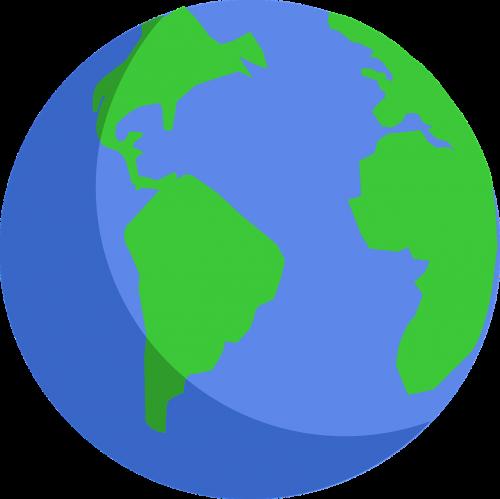 earth globe planets