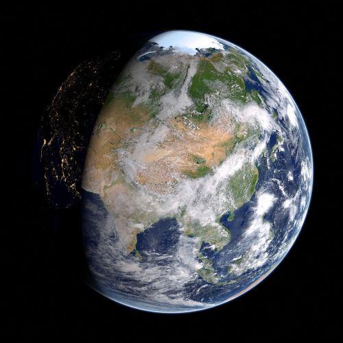 earth asia russia
