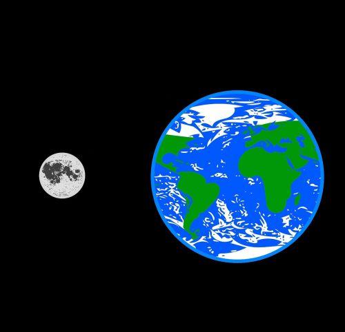 earth moon nature