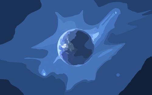žemė,planeta,utopija,erdvė,nemokama vektorinė grafika