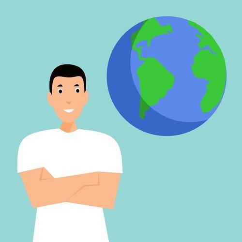 earth  world  terrestrial globe