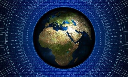 earth  globe  technology