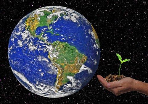 earth  globe hand  scion