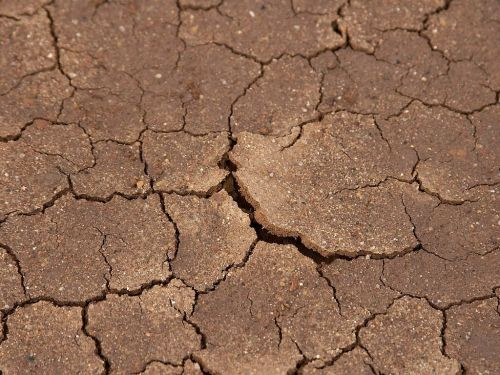 earth dry dehydrated