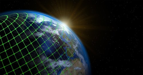 earth  globe  matrix