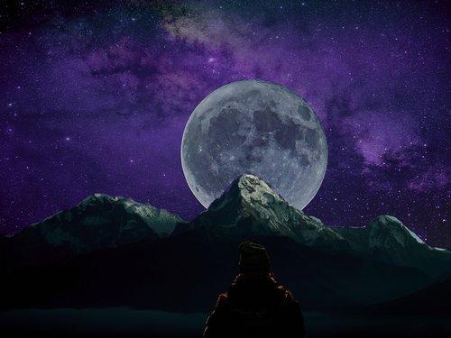 earth  moon  travel
