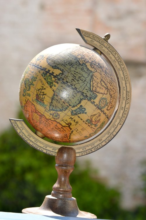 earth  planisphere  world map
