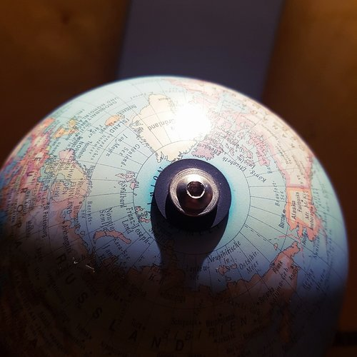 earth  concrete  globe