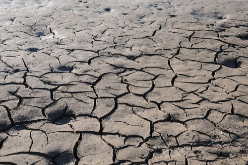 earth drought cracked