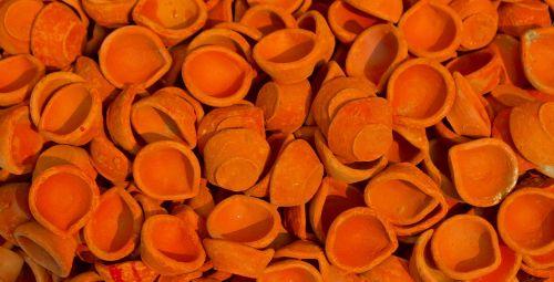 molio lempos,diyas,Diwali,keramikos gaminiai