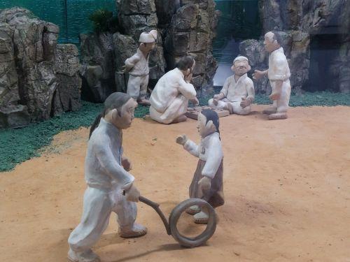 earthenware figurines joseon dynasty commons