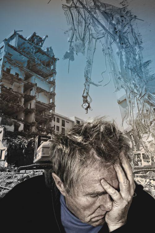 earthquake disaster despair