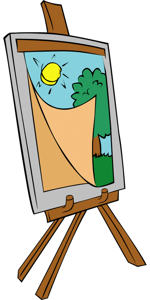 easel painting arts