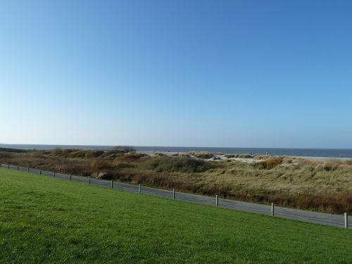 east frisia sea coast