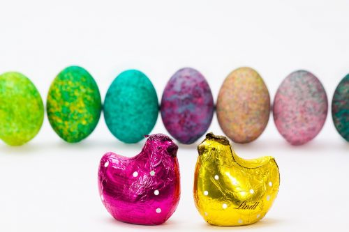easter egg colored