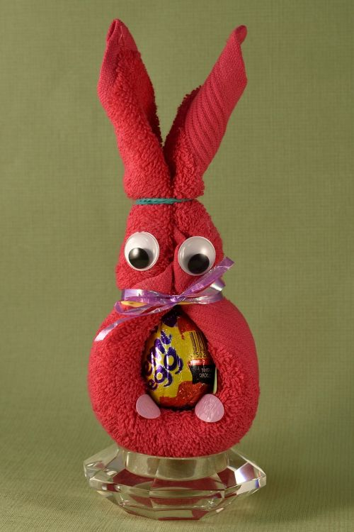 easter bunny handicraft