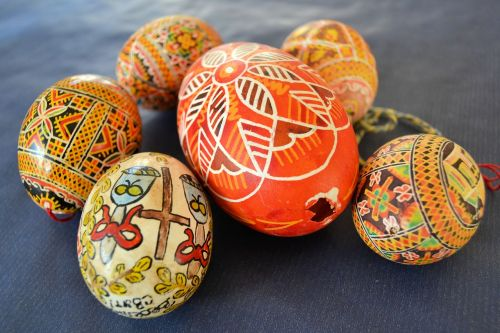 easter easter egg deco