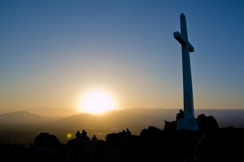 easter easter sunrise cross