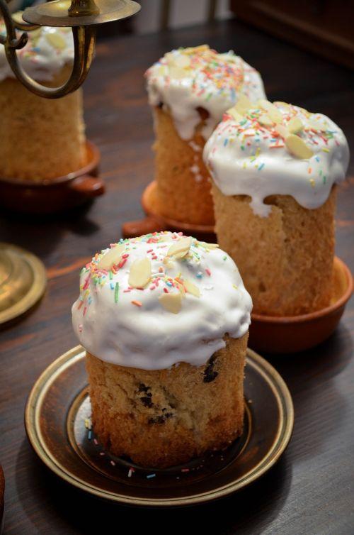 easter cake glaze