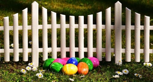 easter easter eggs garden