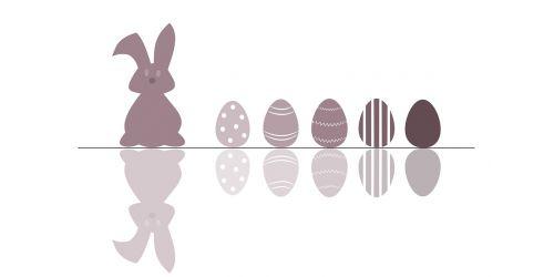 easter hare egg