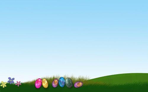 easter easter eggs background