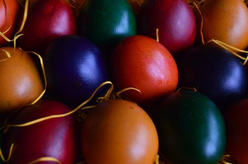 easter eggs ornamentation