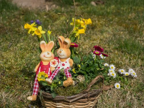 easter easter bunny deco
