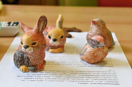 easter  hare  ceramics