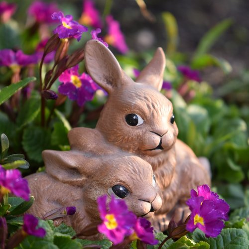 easter  easter bunny  figure