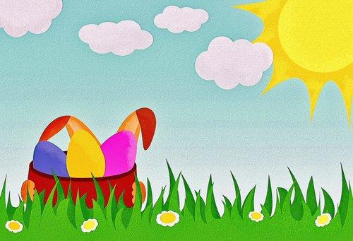 easter  easter eggs  easter bunny
